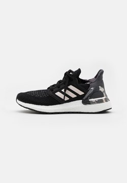 adidas Performance - ULTRABOOST 20  - Laufschuh Neutral - core black/pink tint/grey four