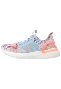 adidas Performance - ULTRABOOST 19 - Laufschuh Neutral - glow blue/hi-res coral/active maroon
