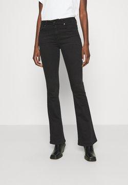 LOIS Jeans - RAVAL - Jeansy Dzwony - black stone