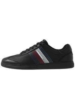 Tommy Hilfiger - ESSENTIAL CORPORATE CUPSOLE - Sneakers laag - black