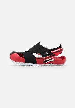 Jordan - FLARE UNISEX - Basketbalschoenen - black/white/unerversity red