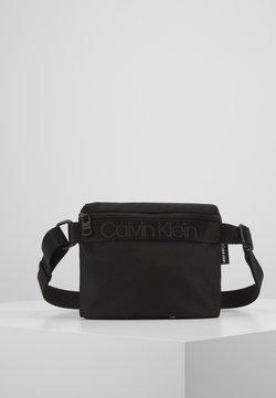 Calvin Klein - NASTRO LOGO MINI REPORTER - Sac bandoulière - black