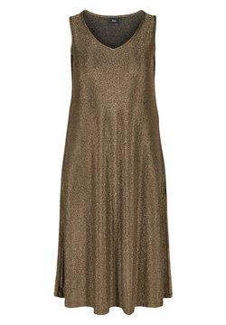 Zizzi - Cocktailkleid/festliches Kleid - gold