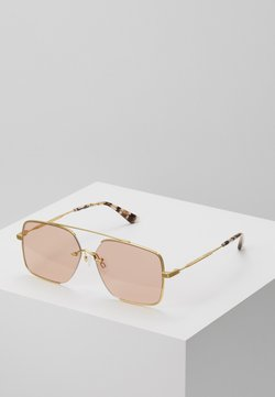 McQ Alexander McQueen - Gafas de sol - gold-coloured/pink