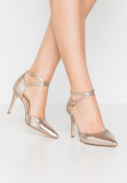 Anna Field - LEATHER PUMPS - High Heel Pumps - champagne