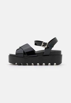 Koi Footwear - VEGAN ZINA - Korkeakorkoiset sandaalit - black