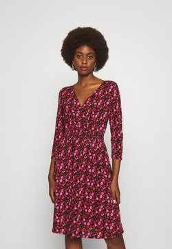 ONLY Tall - ONLPELLA WRAP DRESS  - Korte jurk - black