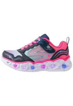 Skechers - HEART LIGHTS - Sneaker low - navy