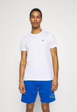 Hollister Co. - CREW SOLID - Camiseta básica - white