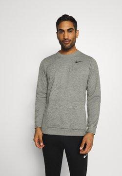 Nike Performance - CREW STANDARD FIT - Collegepaita - dark grey heather/black