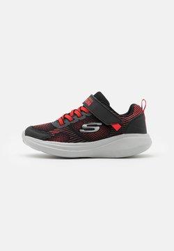 Skechers - GO RUN FAST SPRINT JAM - Sneakers laag - black/red