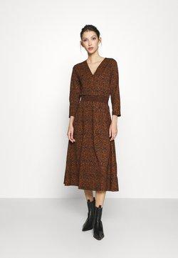 ONLY - ONLZILLE FIXED DRESS - Korte jurk - rust