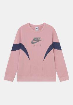 Nike Sportswear - CREW - Sweatshirt - pink glaze/midnight navy