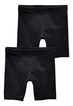 Next - 2 PACK CYCLE SHORTS - Shorts - black