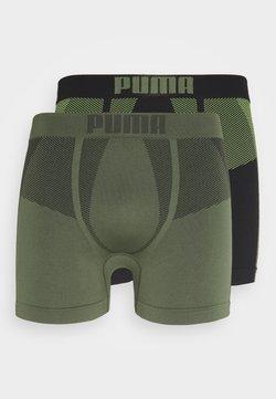 Puma - SEAMLESS ACTIVE 2 PACK - Underkläder - army green