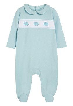 Next - BLUE SMART ELEPHANT SLEEPSUIT (0MTHS-2YRS) - Pyjama - blue