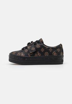Guess - BALIT - Sneaker low - brown/ocra