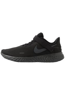 Nike Performance - REVOLUTION 5 FLYEASE - Obuwie do biegania treningowe - black/anthracite