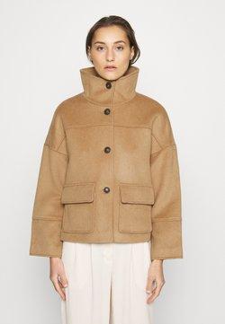 GANT - BLEND CROPPED JACKET - Summer jacket - warm khaki