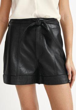 Next - Pantalon en cuir - black