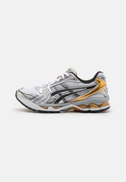 ASICS SportStyle - GEL-KAYANO 14 UNISEX - Zapatillas - white/pure gold