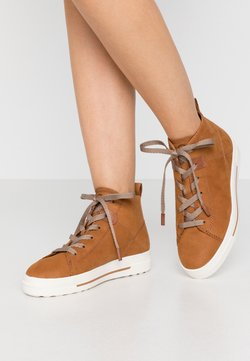 Tamaris - Sneakers hoog - walnut