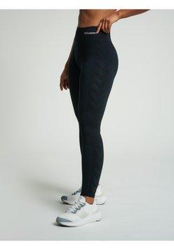 Hummel - Tights - black melange