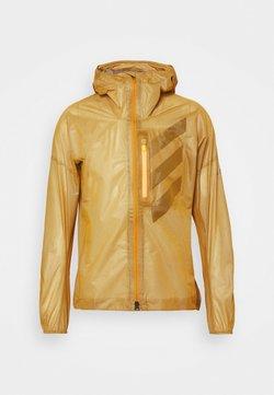 adidas Performance - TECHNICAL TRAIL RUNNING JACKET - Windbreaker - gold