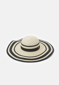 Lauren Ralph Lauren - STRIPE SUNHAT - Hatt - natural/black
