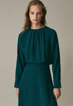 Massimo Dutti - Cocktailkleid/festliches Kleid - green