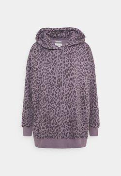 American Eagle - HOODIE PRINT - Sweatshirt - lilac