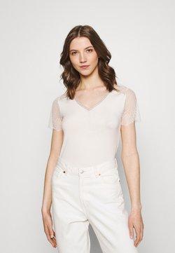 Morgan - DEXIA - T-shirt con stampa - ivoire
