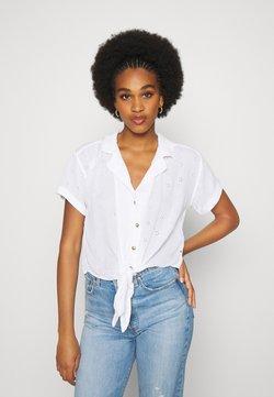 Hollister Co. - RESORT TEXTURE UPDATE - Camisa - white