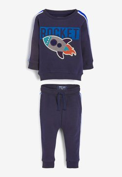 Next - ROCKET BOUCLÉ SET - Trainingspak - blue