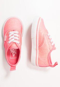 Vans - AUTHENTIC ELASTIC LACE - Scarpe senza lacci - neon glitter pink/true white