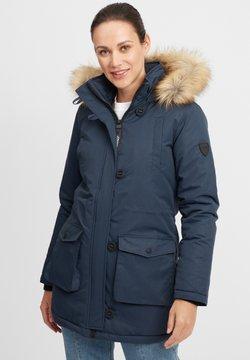 Oxmo - ACTA - Płaszcz zimowy - insignia blue