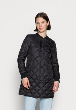 Marc O'Polo - COAT QUILTED THERMORE PADDING REGULAR FIT WELT POCKETS - Manteau court - black