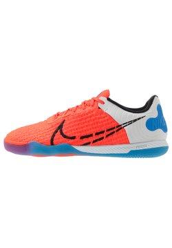 Nike Performance - REACTGATO  - Fotballsko innendørs - bright crimson/black/photo blue