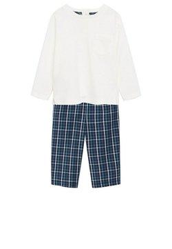 Mango - SET - Pyjama - Blue / White
