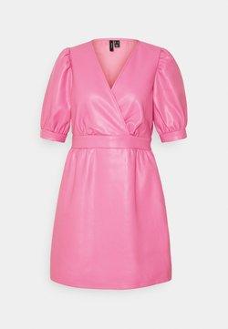 Vero Moda Petite - VMPAULINA SHORT DRESS - Robe d'été - chateau rose