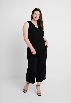 MY TRUE ME TOM TAILOR - CULOTTE - Combinaison - deep black