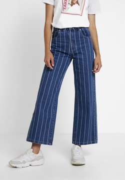 Abrand Jeans - A STREET ALINE - Flared Jeans - thunder