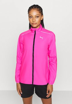Puma - IGNITE WIND JACKET - Laufjacke - luminous pink