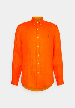 Polo Ralph Lauren - PIECE DYE  - Koszula - sailing orange
