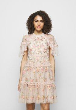 Needle & Thread - EMMA DITSY MINI DRESS - Cocktailkleid/festliches Kleid - strawberry icing