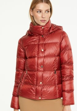 comma - SCHIMMERNDER OPTIK - Daunenjacke - autumn red