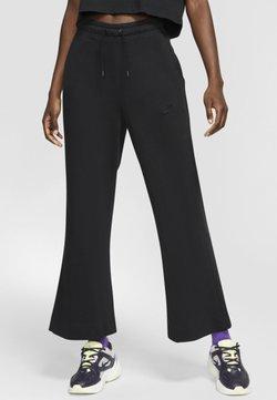 Nike Sportswear - SPODNIE DAMSKIE  - Verryttelyhousut - black/dark smoke grey