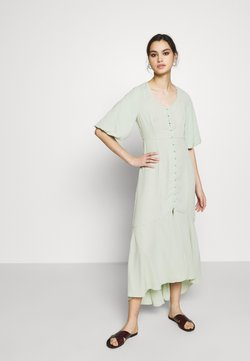 Who What Wear - THE FISHTAIL DRESS - Maxiklänning - sage