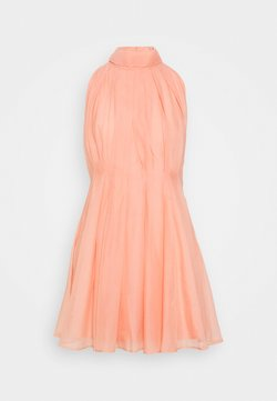 YAS Petite - YASLONDON HALTERNECK DRESS SHOW  - Cocktailkleid/festliches Kleid - cantaloupe