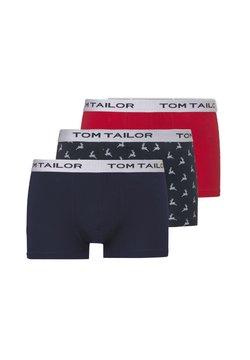 TOM TAILOR - 3 PACK - Shorty - blue-dark-allover